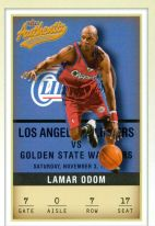 2001-2002 Fleer Authentix